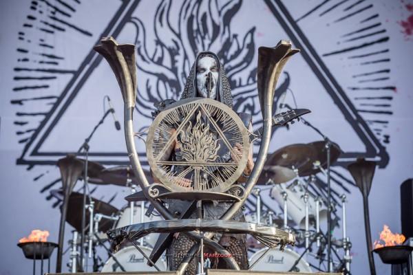 hellfest, behemoth, poland, black metal, 2017, festival, nergal