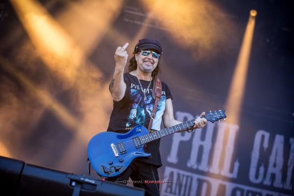 phil campbell, motorhead, lemmy, hellfest, 2017, mainstage, france, live
