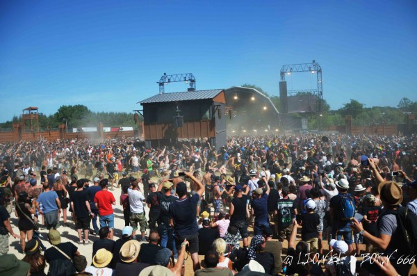 hellfest, frank carter, and the rattlesnakes, 2017