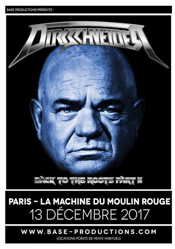 Udo Dirkschneider, Raven, UDO, accept, tournée, concert, live, sortie, paris, heavy, 2017