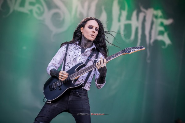 hellfest, motionless in white, metalcore, 2017, festival