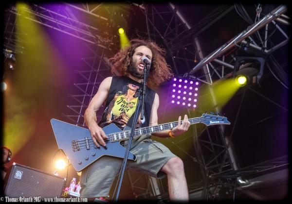 thrash, crossover, heavy key, municipal waste, insanity alert, France, festival, hellfest, warzone