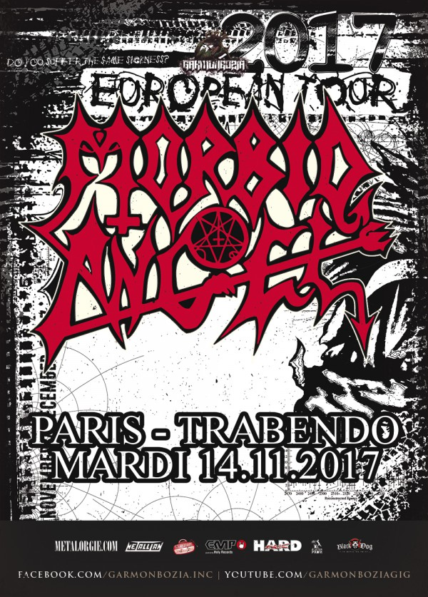Morbid Angel Paris