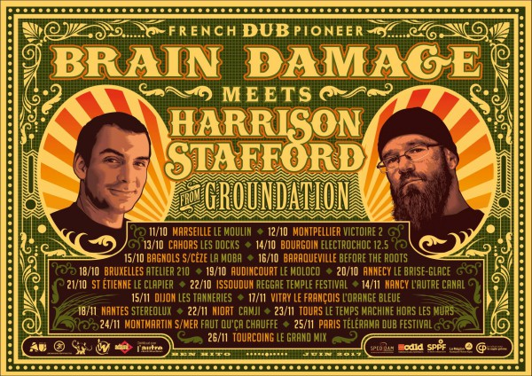 Brain Damage meets Harrison Stafford Tour