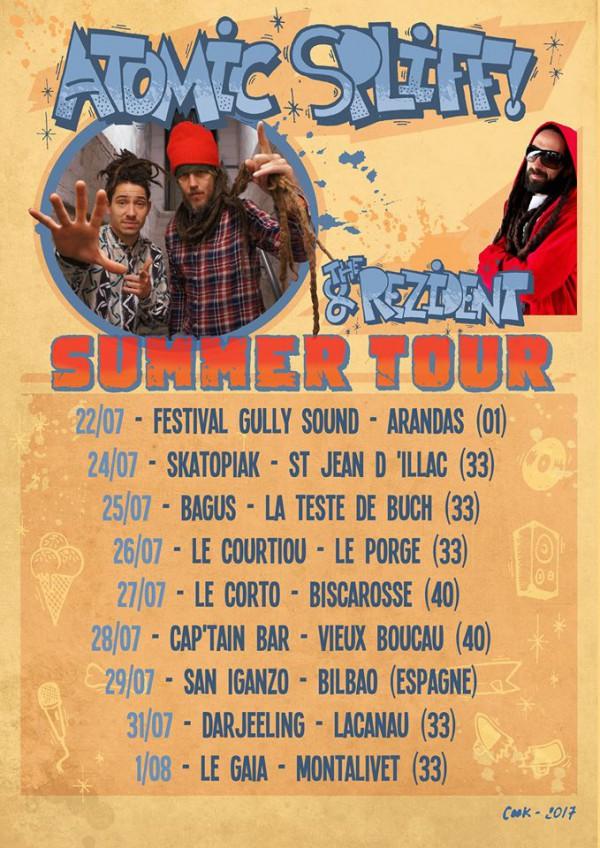 Atomic Spliff Summer Tour 2017