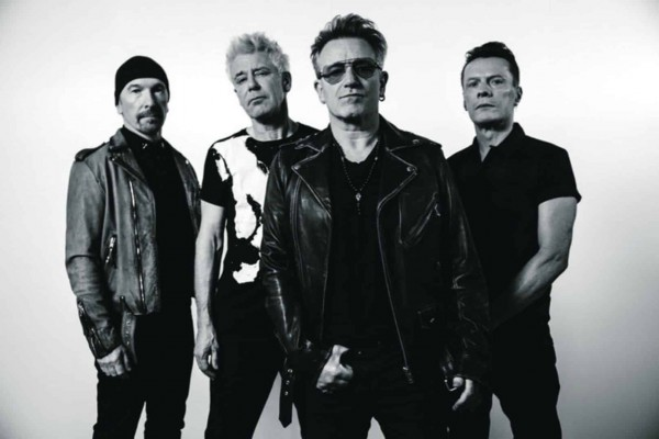 Oasis, The Josua Tree, Bono, The Edge, Aday Clayton, Larry Mullen