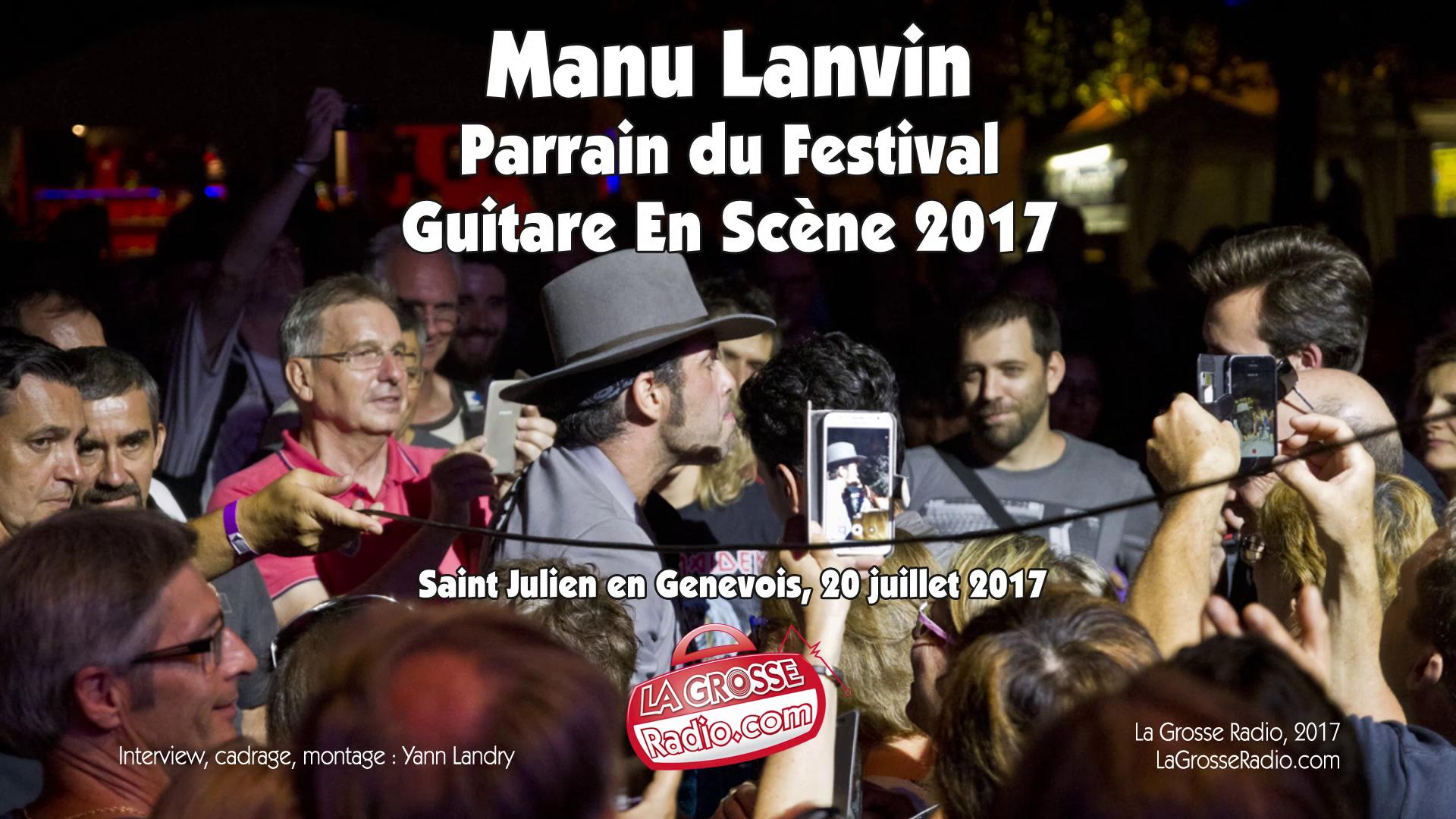 Manu Lanvin, Devil Blues, interview, guitare en scène, festival