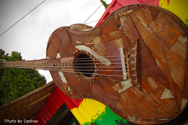guitare Zion Garden