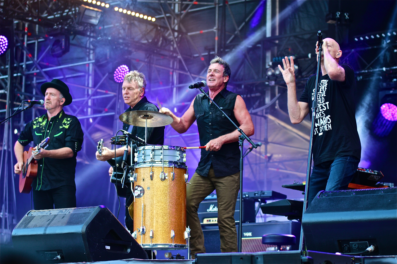 Midnight Oil, live report, concert, festival Musilac, reformation