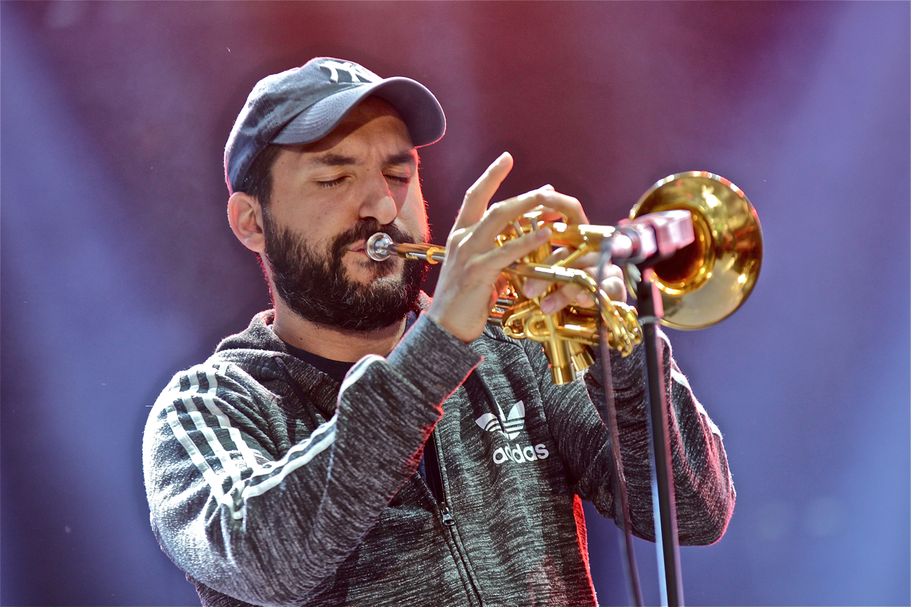 Ibrahim Maalouf, red & black lights, Musilac, festival, live report, concert