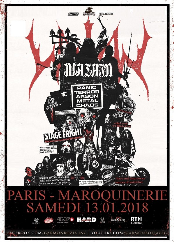 Watain Paris