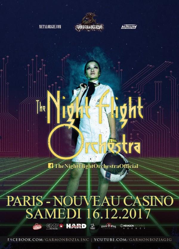 The Night Flight Orchestra Paris