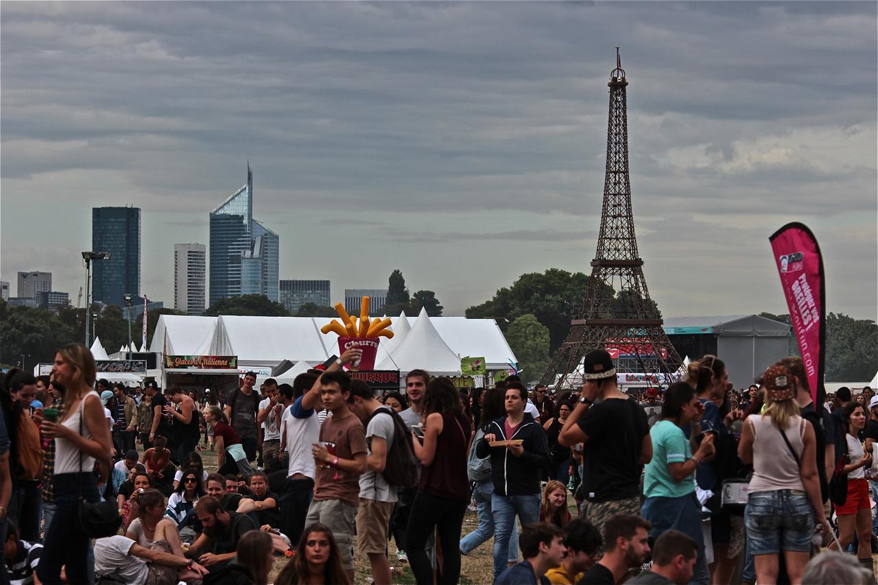 festival Lollapalooza, 1ère édition française, live report, concert, 1ère journée, the hives, the roots