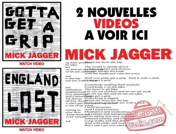 mick jagger, gotta get a trip, england lost, voir video, clip, regarder, 2017
