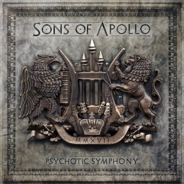 sons of appolo, Signs Of The Time, portnoy, Psychotic Symphony, InsideOutMusic, Sony Music, 2017, album