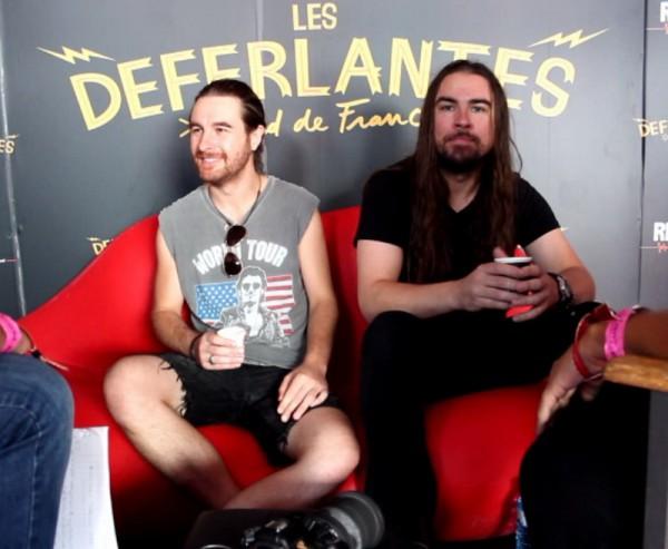 Airbourne Interview Déferlantes 2017
