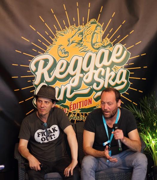 Tryo en interview au Reggae Sun Ska 2017