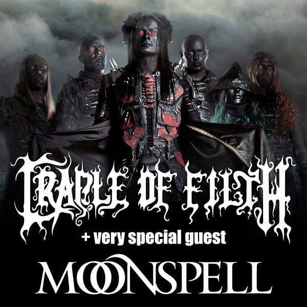 CRADLE OF FILTH, MOONSPELL