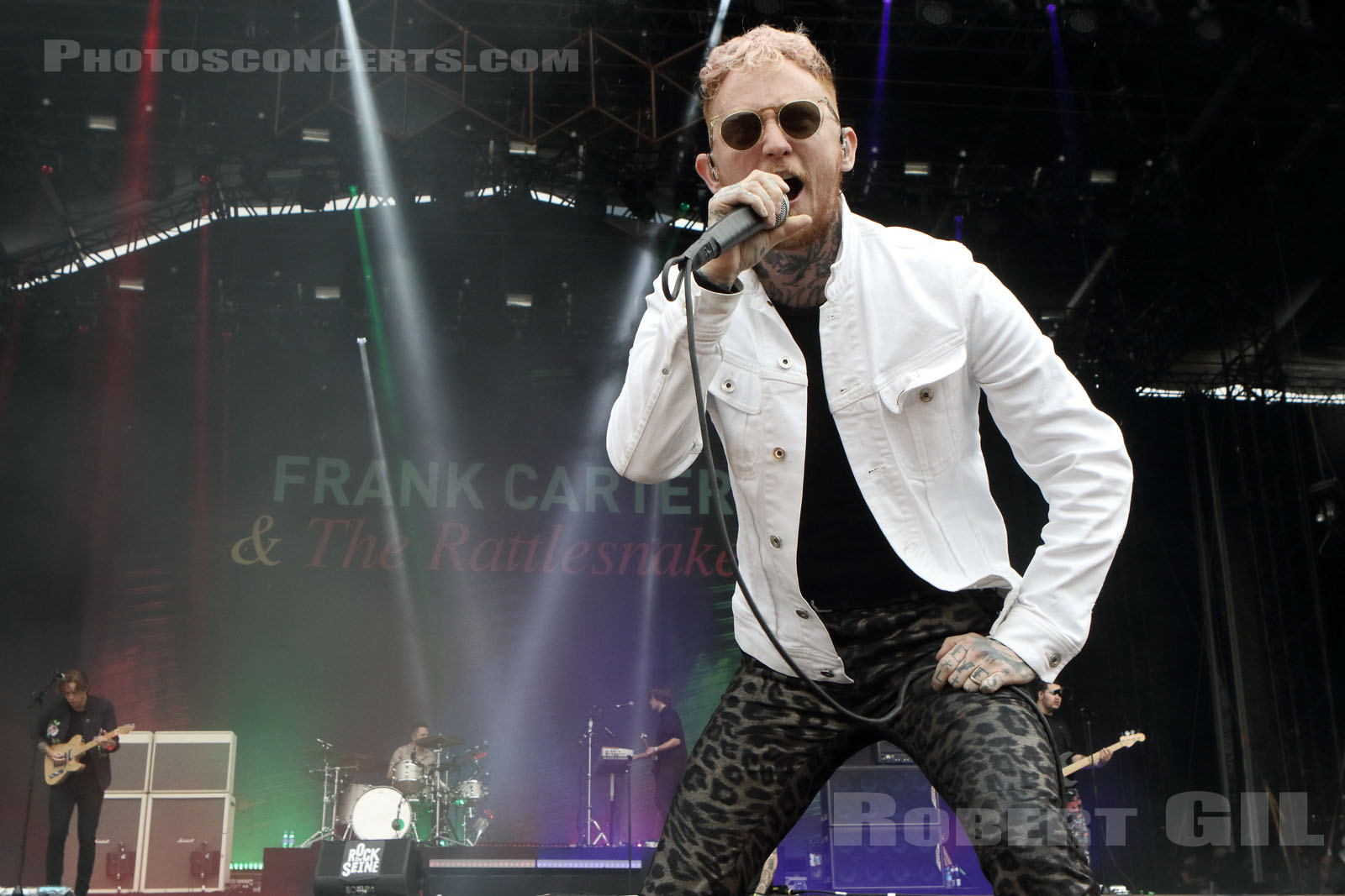 Frank Carter and the Rattlesnakes, Rock en Seine 2017, 1ère journée