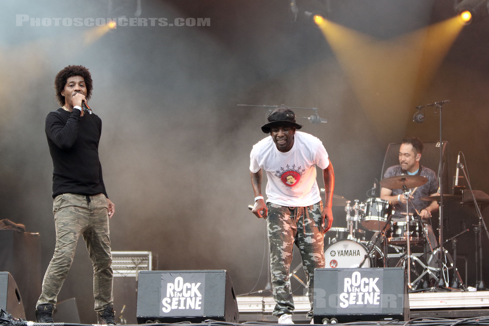 the Pharcyde Live Band , Rock en Seine 2017, live report, concert