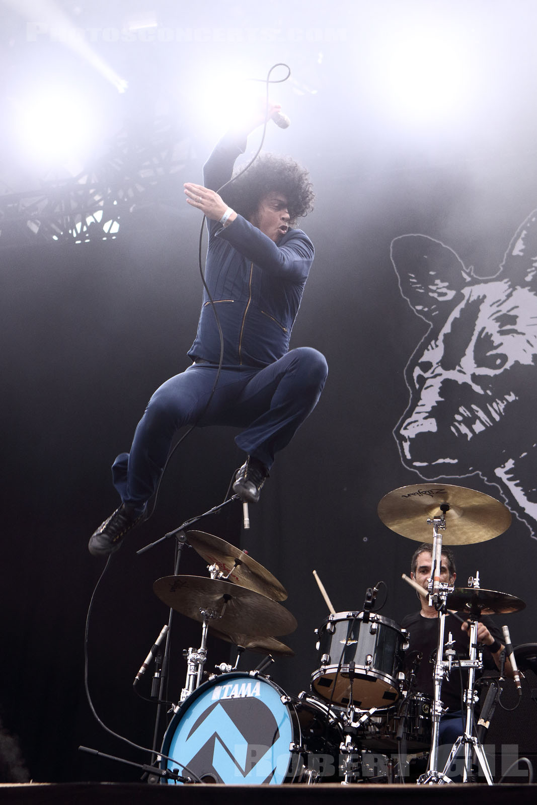 At the Drive-in, Rock en Seine, live report, concert