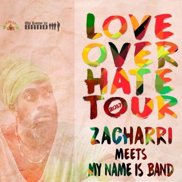 Ras Zacchari & My Name Is Band