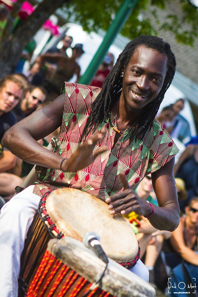 nomade reggae festival, frangy, percussions
