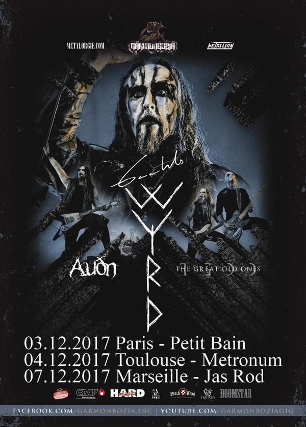 Gaahl's tour 2
