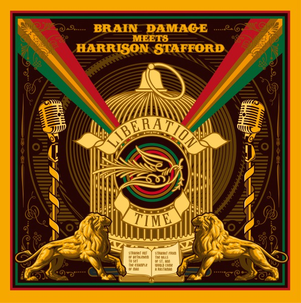 brain damage, harrison stafford, liberation time
