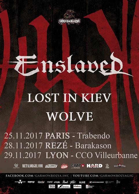 Enslaved tour 2