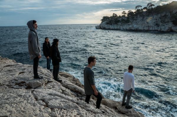 oceans asleep, metalcore, lyon, france, 2017, EP