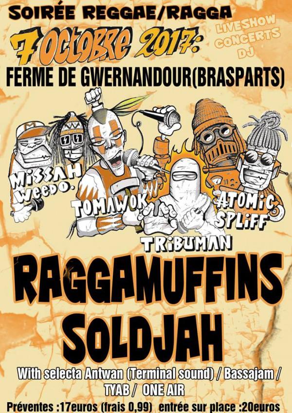Raggamuffins Soldjah party