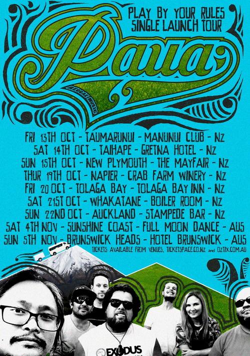 Tour Paua Poster