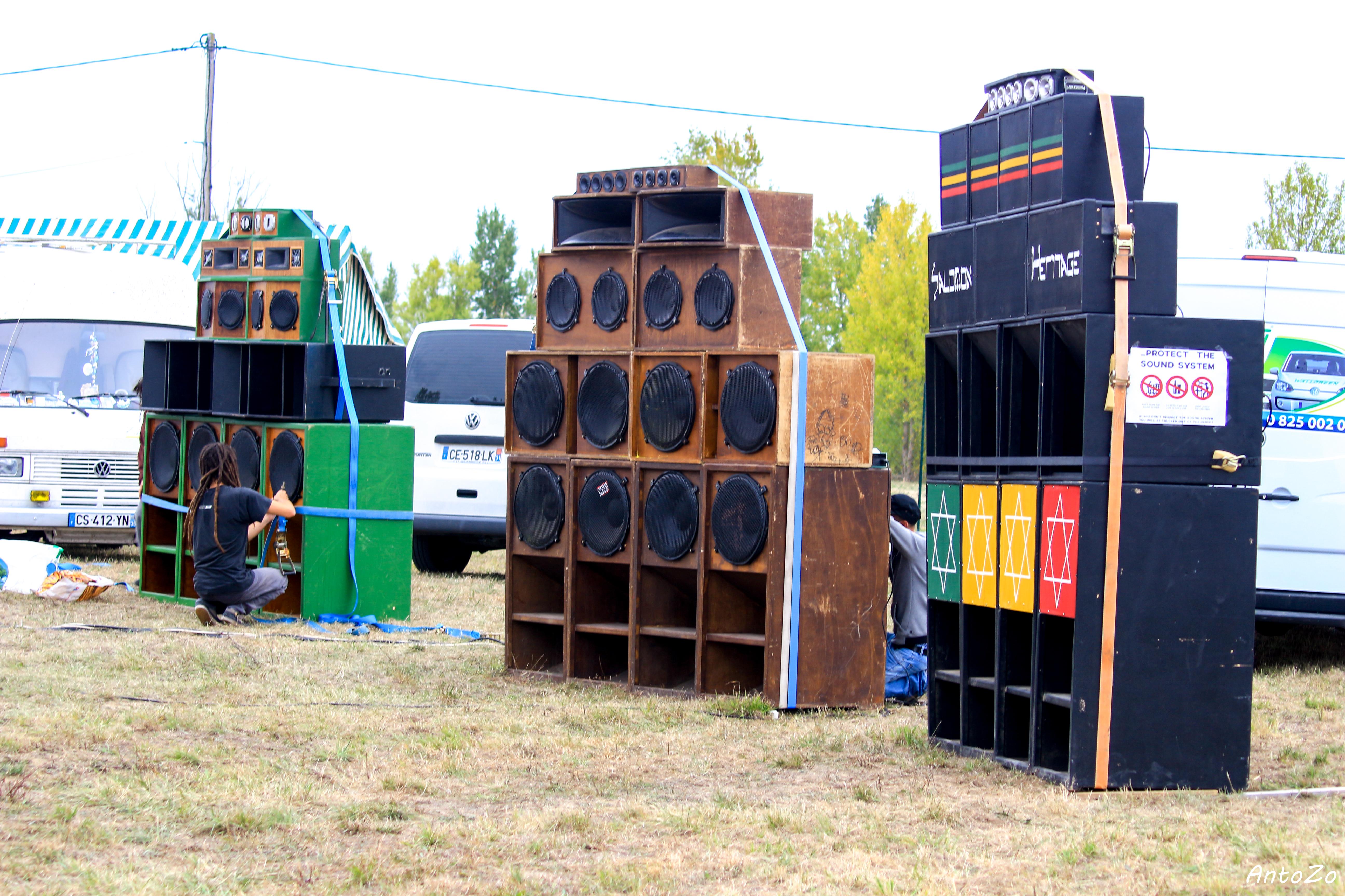 sound system au Pieta'terre 2017