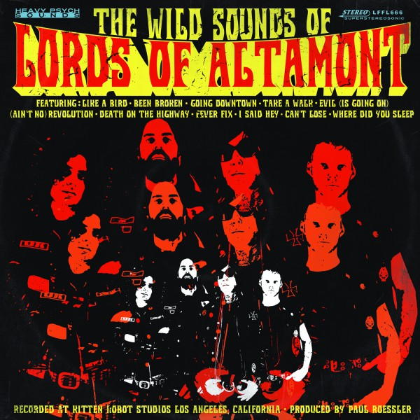 The Wild Sounds Of The Lords Of Altamont Cover