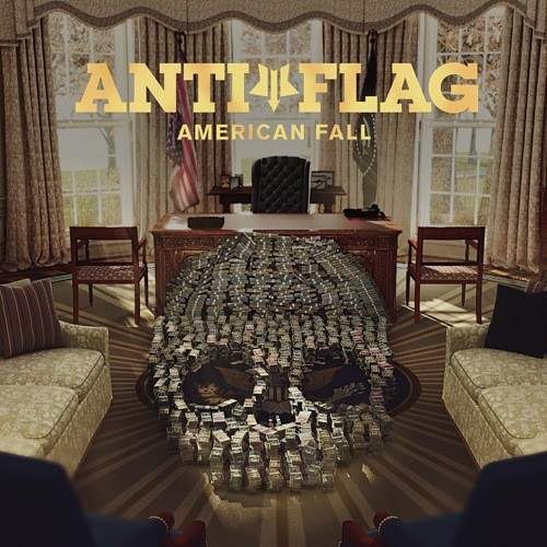 anti flag, american fall, the criminals, album, new, clip, 2017, spinefarm records