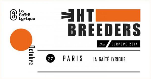 the breeders, pins, rock, indé, paris, gaité lyrique, 2017