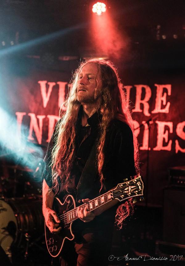 Vulture Industries, Paris, Backstage By the mill, Garmonbozia, 2017