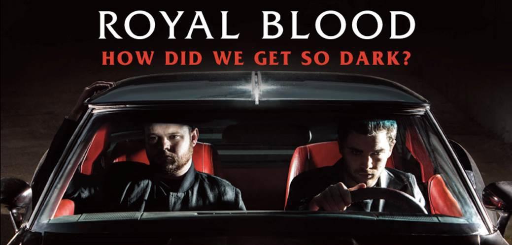 Royal Blood, clip, how did we get so dark, rock, lapin, monty python, clip, sombre
