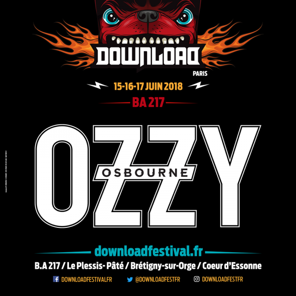 download festival france, 2018, summer, ozzy, fest, été, metal, rock
