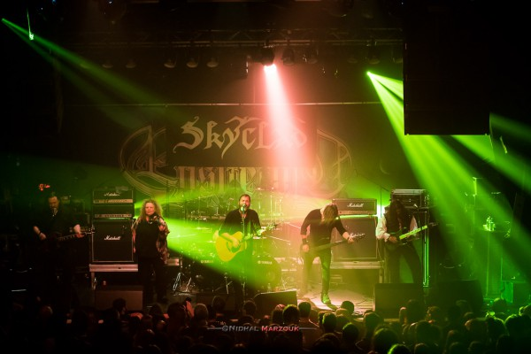 Skyclad, Paris, concert, machine du moulin rouge, 2017