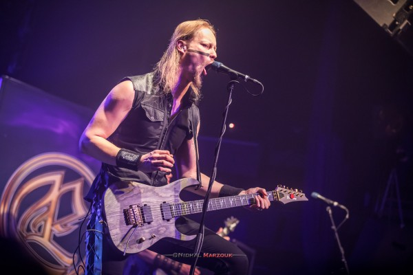 Petri Lindroos, Ensiferum, 2017, Paris