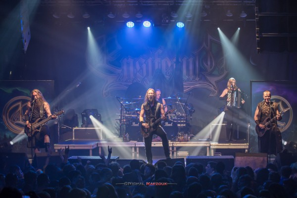 Ensiferum, paris, 2017, concert