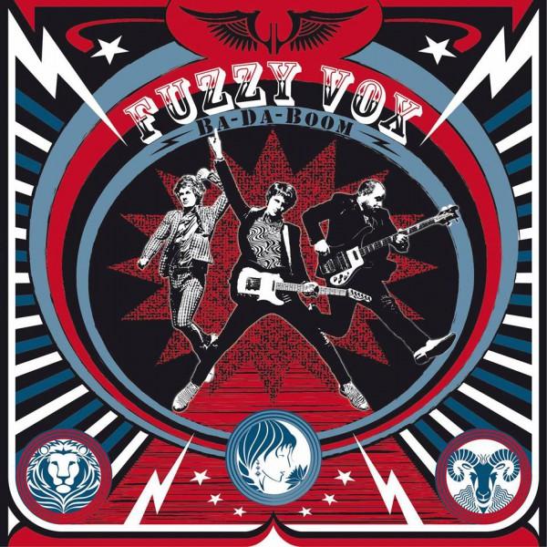 Fuzzy Vox Ba Da Boom EP Cover