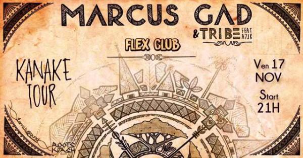 Marcus Gad - Flex Club Nouméa 17/11/2017