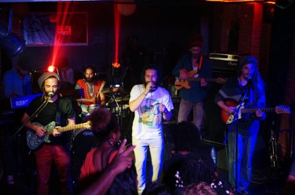 Marcus gad & The Tribe, Fles Club Nouméa (17/11/2017)
