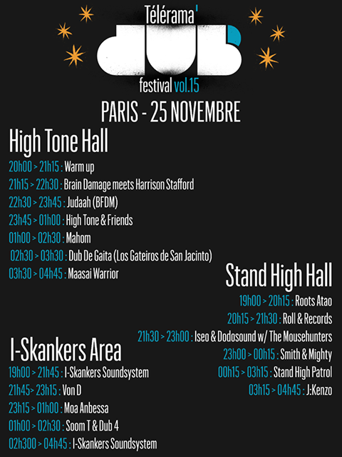 télérama dub festival, docks de paris, high tone