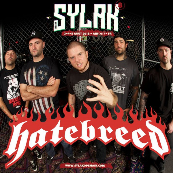 sylak open air, sylak, 2018, metal, hatebreed