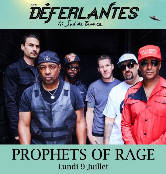 Prophets Of Rage Déferlantes 2018