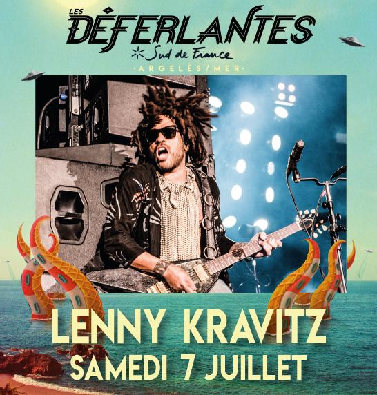 Lenny Kravitz Déferlantes 2018